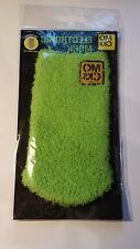 XL MOCKS Sock fits, HTC One M7 M8 M9 M10 iPhone 6 & 7 Green Fluffy