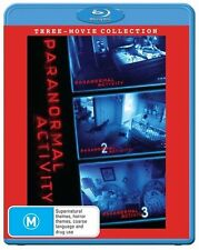 Paranormal Activity Trilogy Blu-ray Discs NEW