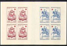France 1960 Red Cross/Medical/Health/Welfare/St Martin/Horse/Carving bklt b4479c