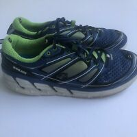 Hoka One One Conquest 2 Running Sneakers Shoes Men's Size 12 Blue