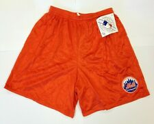 New Majestic New York Mets Orange Mesh Shorts NWT size XL