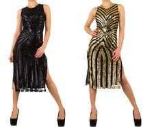 Ärmellose wadenlange Damenkleider für Cocktail-Anlässe