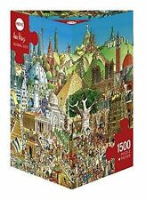 HEYE 1500 PIÈCES PUZZLE Triangulaire Global City Prades Puzzles 	 HY29634