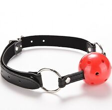 💋NEW Red Mouth Ball Gag 👄Mouth Stuffed Adult Game sex Toy👄