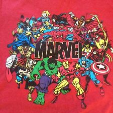Marvel Universe Retro Comics T-Shirt from Disney Store Size M