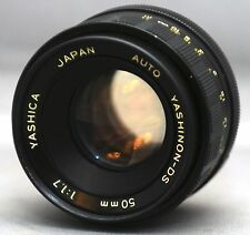 M42 f/1.7 50mm YASHINON-DS SCREW SLR Yashica Pentax Zenit Chinon Praktica Lens