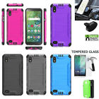 Phone Case for Alcatel TCL A2 (5.5)/TCL Signa Dual-Layered Shock Absorbing Cover