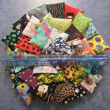 Cat Nip Pillows Toys (2) for Your cats! Sale helps shelter Handmade colorful!