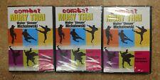3 Dvd Set Combat Muay Thai training & street techniques Walter Michalowski