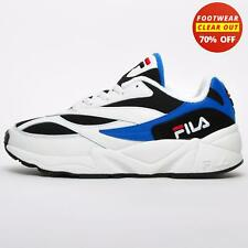 Fila V94M Heritage Low Lace Up Casual Mens Retro Fashion Sneakers Trainers White
