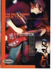 2003 IBANEZ Jet King Electric Guitar DAVID OJALA Vtg Print Ad