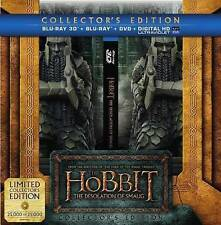 New Sealed The Hobbit: The Desolation of Smaug Collector's Edition Blu-ray 3D +