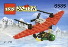 LEGO HANG GLIDER 6585 Set Classic Town Extreme Team 1x minifig Creator mini