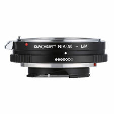 K&F Concept Adapter for Nikon AI(G) Mount Lens to Leica M CL Minolta CLE Camera