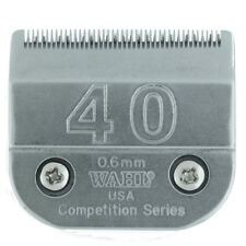 Wahl Competition Blade # 40 - Leaves 0.6mm Fits - Andis, Oster, A5