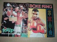 RIVISTA=BOXE RING N°9/1987=MIKE TYSON=OLIVA=NATI=BRELAND=MCCALLUM=HOLYFIELD