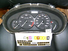Velocímetro combi instrumento peugeot 206 963496108 0 diesel Speedometer Tachometer