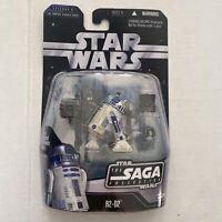 "Star Wars 3.75 4"" Inch Figure  The Saga Collection R2-D2 Droid 2006 Hasbro"