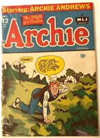 Archie Comics 12 Golden Age 1945 ~G