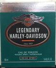 Harley-Davidson Legendary Fresh Spirit Edt 100ml Spray - Vintage - New & Rare