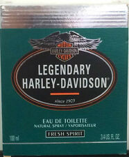 Harley-Davidson Legendary Fresh Spirit Edt 100ml Spray - Vintage -  New & Rare