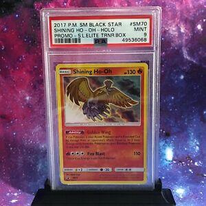 Pokemon Shining Ho-oh SM70 Shining Legends Promo PSA 9