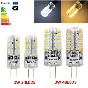 8 Stück G4 LED COB 3W Lampen Stiftsockel Leuchtmittel Warmweiß Birne AC DC 12V