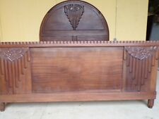 OUTSTANDING ART DECO STYLE DOUBLE BED - CIRCA 1930(HS205)