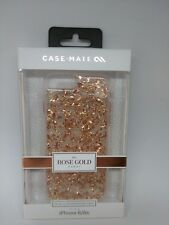NEW Case Mate Rose Gold Karat Dual Layer Hard Case Cover for iPhone 8, 7, 6/6s