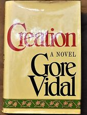 1981 Gore Vidal: Creation First Edition First Print Signed By the Author HC/DJ