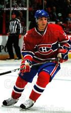 2009-10 Montreal Canadiens Postcards #4 Matt D'Agostini
