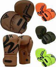 Rdx Boxing Pads Mma Training Gloves Focus Mitts Muay Thai Punching Kickboxing