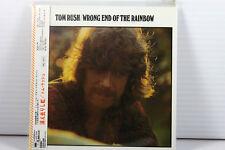 TOM RUSH: WRONG END OF THE RAINBOW, JAPAN MINI LP CD, ORIGINAL, RARE, OOP