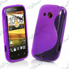 Accessory Cover Case TPU Silicone PURPLE HTC Desire C A320E/ G7C