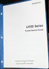 Digital Equipment LA100 Service Guide