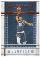2015-16 Panini Excalibur Basketball Jamfest Insert #4 Kevin Durant Thunder