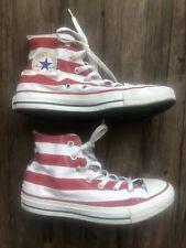 Converse All Star Chuck Taylor Hi-Top American Flag Stars & Bars Men 6 Women 8