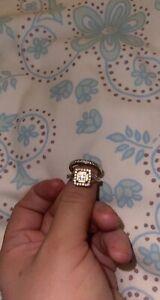 diamond engagement wedding ring set 9ct Gold