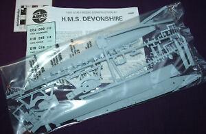Airfix HMS Devonshire 1:600 scale model ship kit 03202.