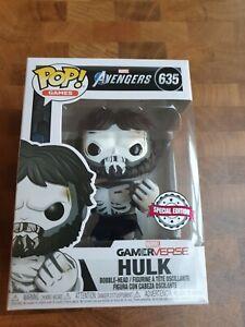 #635 Hulk (Skeleton) Marvel Avengers Exclusive Funko POP Gamerverse