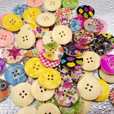 25x30mm 10 20 50 pcs coeur hibou couleur boutons 2 trous bouton à coudre craft