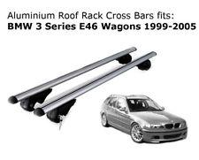 Aluminium Roof Rack Cross Bars fits BMW 3 Series E46 Wagons 1999-2005
