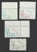 European IDO Conference Zurich 1969 poster stamps (4)