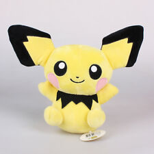 "Official 9"" 23Cm Pichu Pokemon Anime Plush Toys Soft Stuffed Animal Doll New"