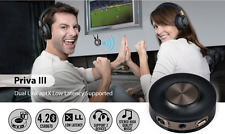 Wireless TV Sound Transmitter To Bluetooth Speaker Or Headphones No Sound Delay
