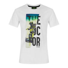 Official Genuine Valentino Rossi VR46 le médecin Ranch BLANC Homme T Shirt