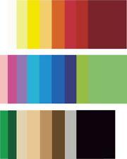 farbiges Tonpapier DIN A4 130g/qm Tonkarton Tonzeichenpapier Bastelkarton farbig