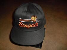 Cincinnati Bengals hat 90's Vintage Snapback hat NFL rare w/ back logo NICE!!