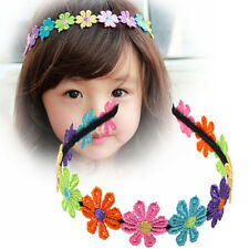 Flowers Hairbands Garland Flower Hairband For Girls Flower Crown Hair Band JB