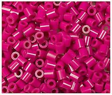 1000 Perler Raspberry Color Iron on Fuse beads New
